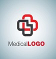 MEDICAL LOGO 6 vector image vector image
