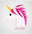 unicorns horse cute dream fantasy cartoon vector image vector image