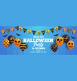 halloween baloon banner design 4