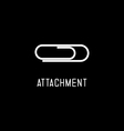 Icon of Attachment vector image