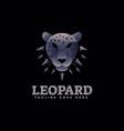 logo leopard gradient colorful style