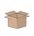 opened cardbox icon image vector image