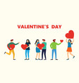 share your love valentines day vector image vector image