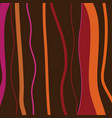 abstract retro stripes background vector image vector image
