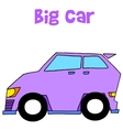 Collection of big car art vector image vector image