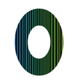 letter O vector image vector image