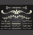 text separator decoratice divider book typography vector image