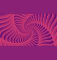 tunnel vortex spiral abstract background vector image