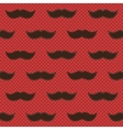 Background with mustaches vector image vector image