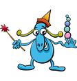 cartoon funny fantasy character vector image vector image