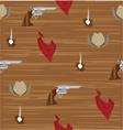 cowboy pattern vector image