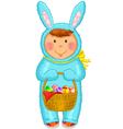 Easter coustume vector image vector image