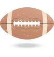 football-vintage vector image vector image