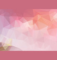 light pink-yellow polygonal which consist of vector image vector image