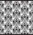 minimalistic monochrome seamless pattern vector image vector image