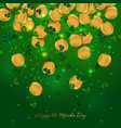money patricks day vector image