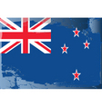 New Zealand national flag vector image vector image