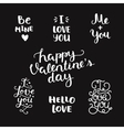 photo overlays handdrawn lettering vector image