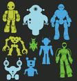Robot 1 vector image