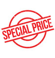 special price rubber stamp vector image vector image