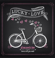 vintage valentines day or wedding vector image vector image