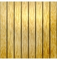 Wooden yellow fence vector image