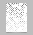 abstract square pattern brochure template - tile vector image vector image