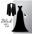Black tie vector | Price: 1 Credit (USD $1)
