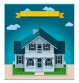 cottage xxl icon vector image vector image