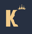 king royal luxury vector image vector image