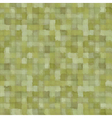 mixed green patchwork blurry square pattern vector image vector image
