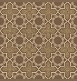 pattern with ornament in oriental style vector image