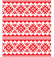 scandinavian nordic seamless pattern vector image