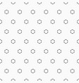 seamless geometric pattern with dotted circles vector image vector image