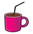 Coffee cup Coffee mug vector image vector image