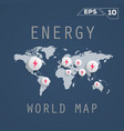 energy map vector image vector image