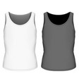 full back singlet for boys vector image