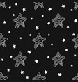 pattern with stars vector image vector image