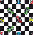 race car background vector image vector image