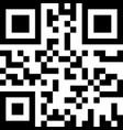 sample qr code icon vector image