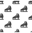 skates seamless pattern vector image