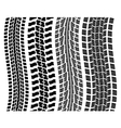 tyre prints vector image