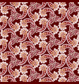 abstract floral seamless pattern oriental asian vector image vector image