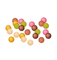 Anko Dama or Japanese Jelly Ball vector image vector image