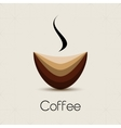 Coffehouse coffee cup vector image