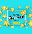 exotic yellow carambola star fruit summer sale vector image