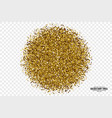 Golden shiny tinsel square particles background