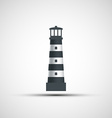 Logo old lighthouse vector image vector image