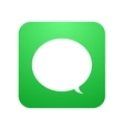 modern chat icon Bubble speech vector image