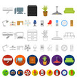 oil industry cartoon icons in set collection for vector image vector image